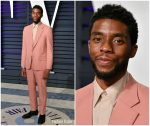 Chadwick Boseman  In Givenchy @ 2019 Vanity Fair Oscar Party