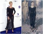 Charlize Theron In Christian Dior @ Cinema For Peace International Committee & Nominee Dinner