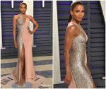 Ciara In Atelier Versace @ 2019 Vanity Fair Oscar Party