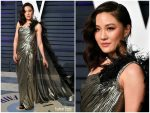 Constance Wu  In Atelier Versace @ 2019 Vanity Fair Oscar Party