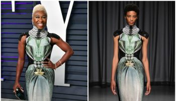 cynthia-erivo-in-mary-katrantzou 2019-vanity-fair-oscar-party