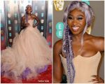 Cynthia Erivo In Vera Wang Collection @ 2019 BAFTAs