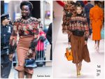 Danai Gurira In Fendi @ Good Morning America