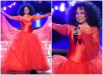 Diana Ross Celebrates  Her 75th Birthday With Grammys Performance