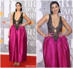 Dua Lipa in Christopher Kane @  2019 BRIT Awards