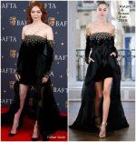 Eleanor Tomlinson In Ralph & Russo @ BAFTA Film Gala