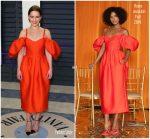 Emilia Clarke In Rosie Assoulin  @ 2019 Vanity Fair Oscar Party