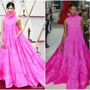 gemma-chan-in-valentino-haute-couture-2019-oscars