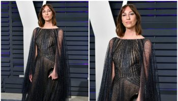 gia coppola-in-zac-posen-2019-vanity-fair-oscar-party