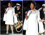 Gladys Knight in Michael Kors Collection @  Super Bowl LIII
