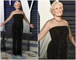 Glenn Close  In Armani Prive @ 2019 Vanity Fair Oscar Party