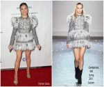 Hailee Steinfeld In Giambattista Valli Haute Couture @ Universal Music Group's 2019  Gammys After Party