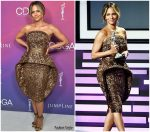 Halle Berry In Sebastian Gunawan Couture @ 2019 Costume Designers Guild Awards