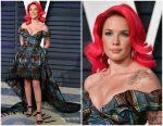 Halsey  In Vivienne Westwood Couture @ 2019  Vanity Fair Oscar Party