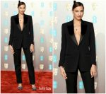Irina Shayk In Burberry @ 2019 BAFTAs