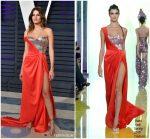 Isabeli Fontana In  Rami Kadi  Couture @ 2019 Vanity Fair Oscar Party