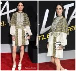 Jennifer Connelly in Louis Vuitton @ 'Alita: Battle Angel' LA Premiere