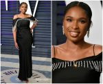 Jennifer Hudson In Christopher Kane  @  2019 Vanity Fair Oscar Party