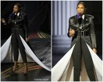 Jennifer Hudson In Pamella Roland  x Jason Rembert  Performing @ Oscars 2019