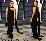 Jessica Alba In Narciso Rodriguez  @ 2019 Vanity Fair Oscar Party