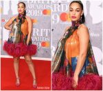 Jorja Smith In 16Arlington @ The BRIT Awards 2019