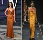 Kacey Musgraves In  Versace @  2019 Vanity Fair Oscar Party