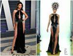 Kendall Jenner In Rami Kadi Couture @ 2019 Vanity Fair Oscar Party