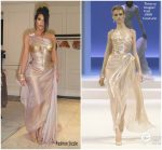 Kim Kardashian In Thierry Mugler Haute Couture @ Thierry Mugler: Couturissime Exhibit