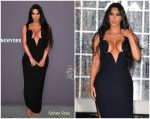 Kim Kardahian In Vintage Versace @  amfAR New York Gala 2019