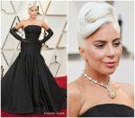 Lady Gaga In Alexander McQueen @ 2019 Oscars