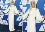 Lady Gaga In Louis Vuitton @  2019 Oscars Nominees Luncheon
