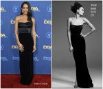Laura Harrier In Brandon Maxwell @ 2019 Directors Guild Of America Awards