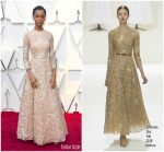 Letitia Wright In Christian Dior Haute Couture @ 2019 Oscars