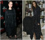Lily James In Khaite @ 'All About Eve' Press Night After Party