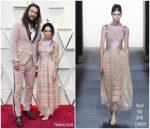 Lisa Bonet In Fendi Couture & Jason Momoa In Fendi Mens @ 2019 Oscars