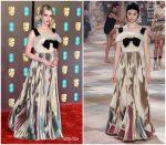 Lucy Boynton In Christian Dior Haute Couture @  2019 BAFTAs