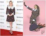 Lucy Boynton in Miu Miu @  Nespresso British Academy Film Awards Nominees Party