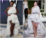 Lupita Nyong'o In Oscar De La Renta   @ 2019 Vanity Fair Oscar Party