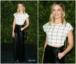 Margot Robbie  In Chanel @ 2019 Chanel And Charles Finch Pre-Oscar Awards Dinner