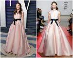 Maude Apatow In Huishan Zhang  @ 2019 Vanity Fair Oscar Party