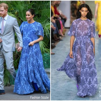 meghan-duchess-of-sussex-in-carolina-herrera-king-mohammed-V1-of-morocco-reception