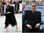 Meghan, Duchess of Sussex In Givenchy @ City University Visit