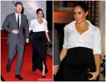 Meghan, Duchess of Sussex In Givenchy @ The Endeavour Fund Awards