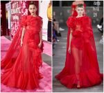 "Miley Cyrus In Valentino @ ""Isn't It Romantic""LA Premiere"