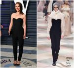 Natalie Portman In Christian Dior Couture @ Vanity Fair Oscar Party