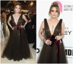 Paris Jackson In Yanina Couture  @ 2019 Elton John AIDS Foundation Academy Awards Viewing Party