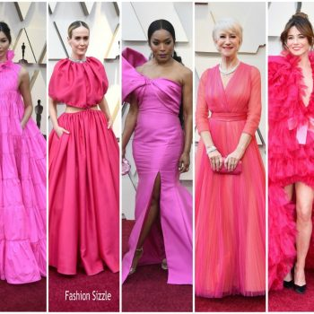 pink -fashion-trend-2019-oscars
