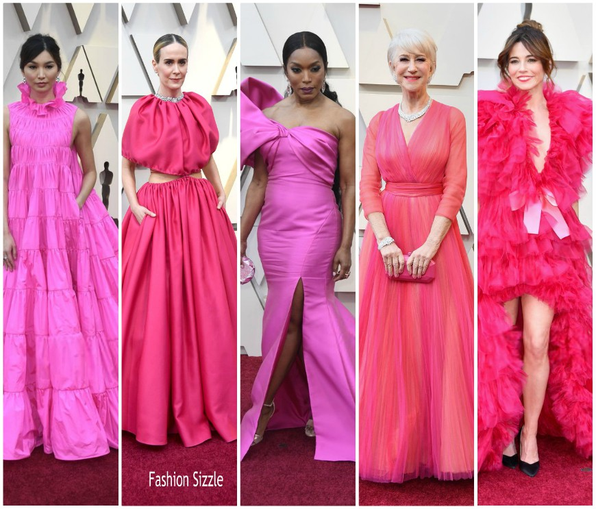 pink -fashion-trend-2019-oscars