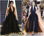 Priyanka Chopra In Elie Saab Haute Couture @ 2019 Vanity Fair Oscar Party
