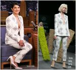 Priyanka Chopra In Teresa Helbig @ The Tonight Show Starring Jimmy Fallon